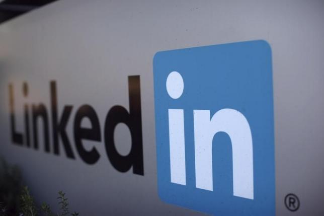 LinkedIn shares dive